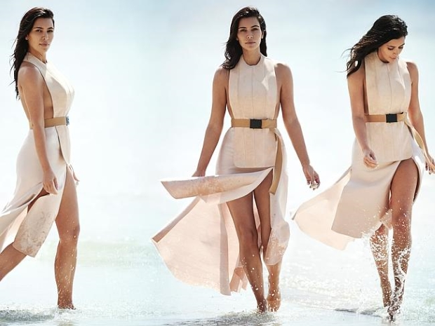 Editorial Preview Vogue Australia February 2015 Kim Kardashian