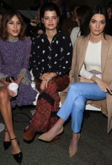 Front Row Spotting at London Fashion Week Fall 2015