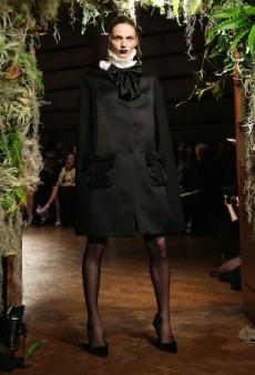 Andreja Pejic Makes Runway Debut at London Fashion Week