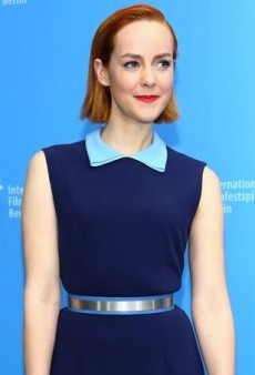 Jena Malone Gets Colorful in Berlin Courtesy of Roksanda
