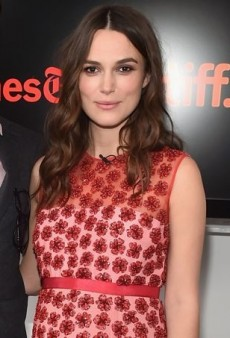Keira Knightley Talks Up 'The Imitation Game' in Alexander Lewis