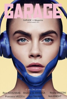 Kendall, Cara and Binx Go Sci-Fi for Cover of Garage (Forum Buzz)