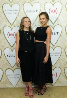 Jessica Alba and Jennifer Meyer Launch Jewelry Capsule on Gilt Today