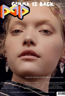 POP Magazine Gives Gemma Ward Her Best Comeback Cover Yet (Forum Buzz)
