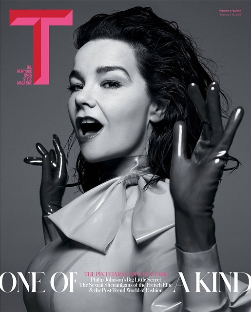 T Magazine The New York Times Spring 2015 Bjork