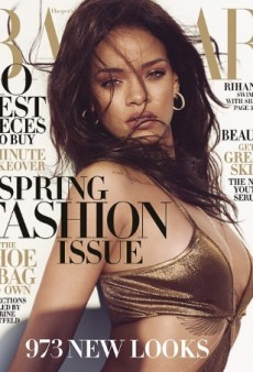 Rihanna's Shoot for Harper's Bazaar Looks Pretty Dangerous (Forum Buzz)