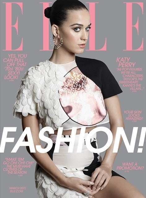 US ELLE March 2015 Katy Perry