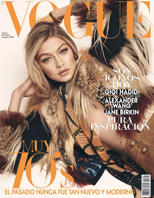 Vogue Spain March 2015 Gigi Hadid
