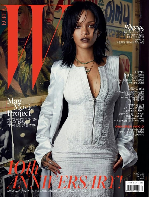 W Korea March 2015 Rihanna Dennis Leupold