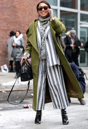Margaret Zhang winter street style