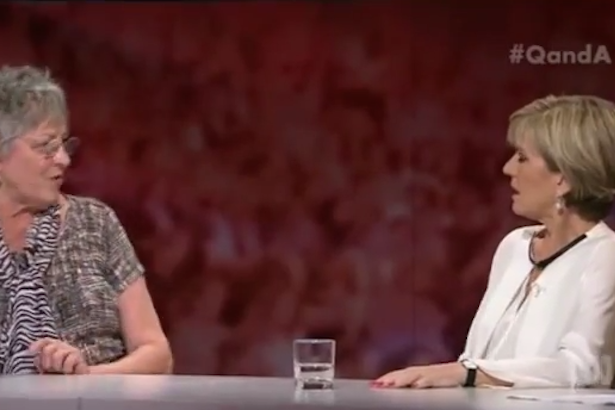 Germaine Greer Asks Julie Bishop if She Would #FreeTheNipple for Bali Nine