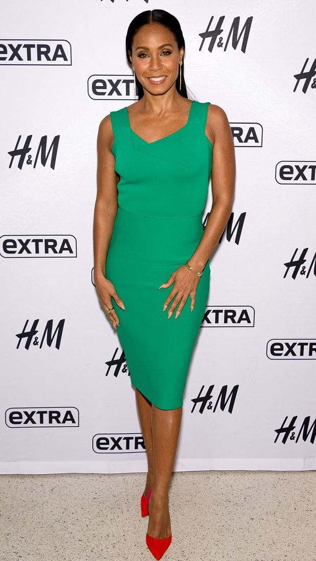 Jada Pinkett Smith appears on
