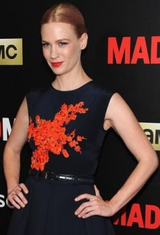 'Mad Men' Co-Stars January Jones and Kiernan Shipka Rock Retro Silhouettes in This Week's Celebrity Best Dressed List