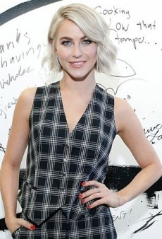 Julianne Hough Goes Mad for Plaid in Temperley London