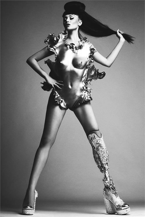 Victoria Modesta for Vogue Italia