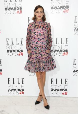 Alexa Chung ELLE style awards