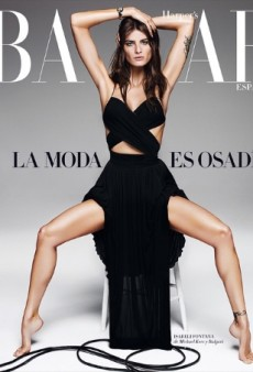 There's Something Different About Isabeli Fontana on Harper's Bazaar Spain (Forum Buzz)