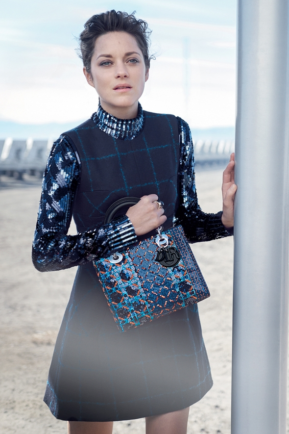 Ad Campaign Christian Dior Lady Dior Bags 2015 Marion Cotillard Peter Lindbergh
