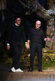 Dolce & Gabbana's Couture Menswear Comes to the US