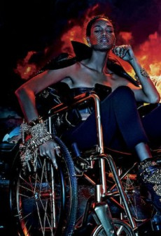Joan Smalls, Riley Montana, Ajak Deng and Maria Borges Heat Things Up for V Magazine