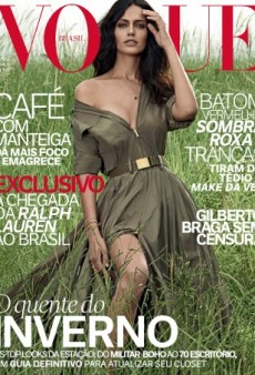 Vogue Brazil's March Cover Look Like Something from 2000 (Forum Buzz)