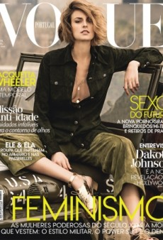 We're Thrilled to See Jacquetta Wheeler on Vogue Portugal's April Cover (Forum Buzz)