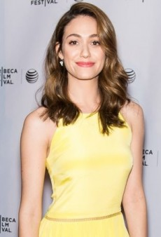 Emmy Rossum Lights Up the Tribeca Film Festival in Preen