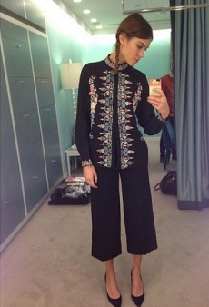 How to Work the Folklore Trend Like Alexa Chung