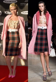 Runway to Real Life: Miley Cyrus in Miu Miu, Olivia Wilde in Marchesa and More (Forum Buzz)
