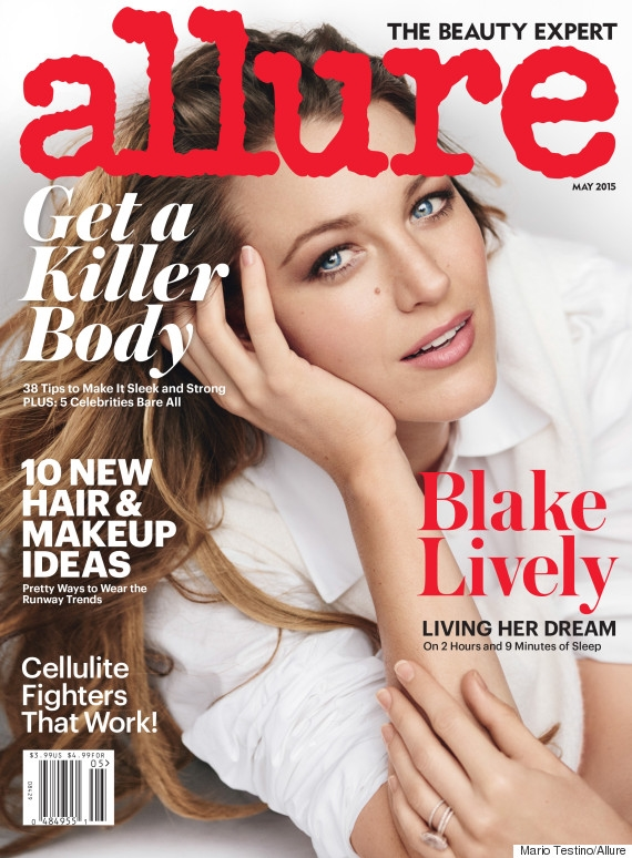 Allure May 2015 Blake Lively Mario Testino