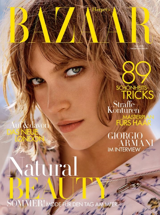Harper's Bazaar Germany May 2015 Arizona Muse Kasper Kasprzyk