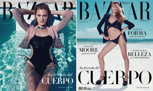 Harper's Bazaar Spain May 2015 Constance Jablonski Nagi Sakai
