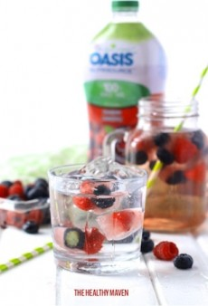 Refreshing Antioxidant Ice Cubes to Spruce up Your Drinks