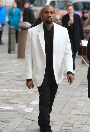 Kanye West White Jacket