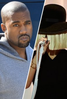 "Sia Has a Dig at Kanye, but Says She Still ""Rates"" Him"