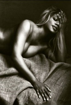 Laverne Cox Takes It Off for Allure