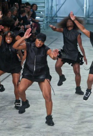 Rick Owens step dancers