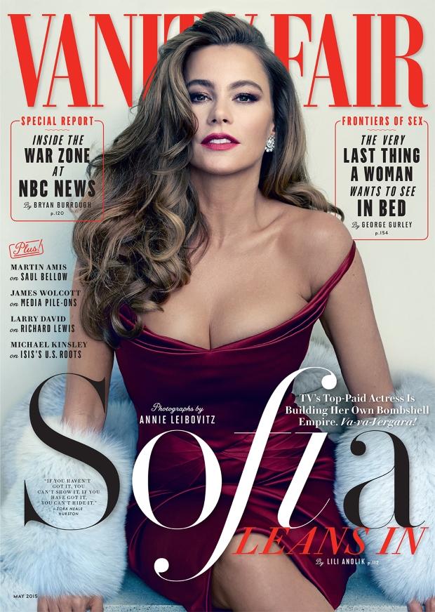 Vanity Fair May 2015 Sofia Vergara Annie Leibovitz