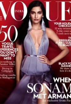 Sonam Kapoor Looks Like a Goddess on Vogue India's April Cover (Forum Buzz)