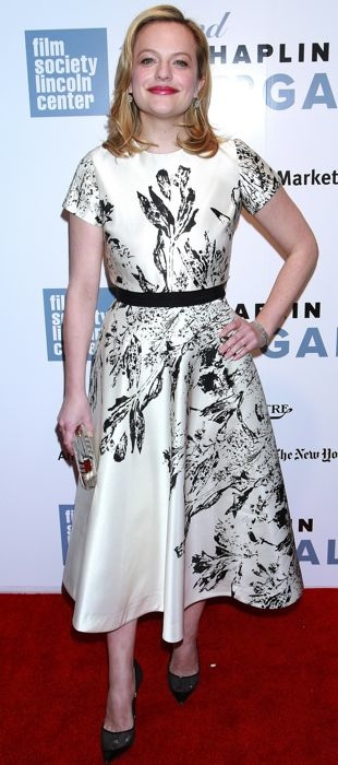 Elisabeth Moss in in Nha Khanh at the 42nd Chaplin Award Gala