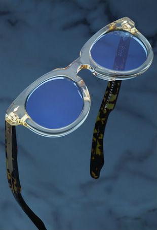 Jacques Marie Mage Fontaine Bleu Sunglasses