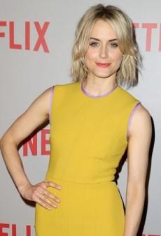 Taylor Schilling Screens 'Orange Is the New Black' in Roksanda