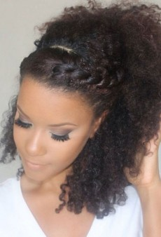 5 Easy Summer Braids for Super Curly Hair