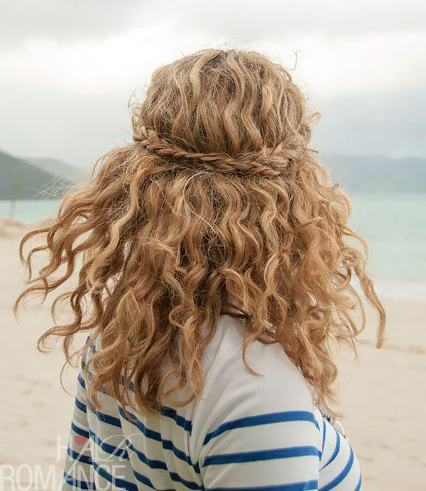 Easy Braids for Curly Hair - the Fashion Spot