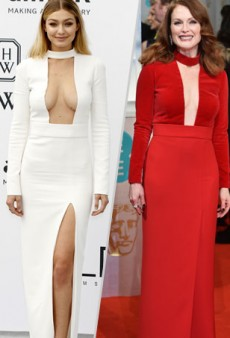 Style Showdown: Gigi Hadid and Julianne Moore Square off in Tom Ford and More Matching Celebs