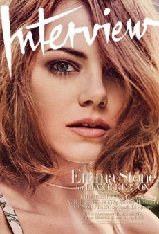 Emma Stone 'Looks Magnificent' on Interview's New Season-Appropriate Cover (Forum Buzz)
