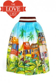 Summer Skirts and Signature Lip Color: The Love List