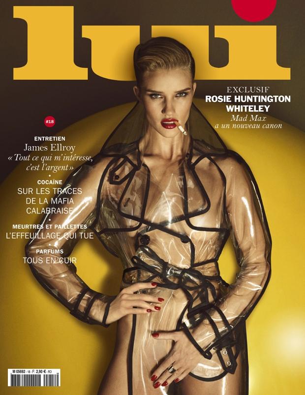 Lui Magazine June 2015 Rosie Huntington-Whiteley by Luigi & Iango