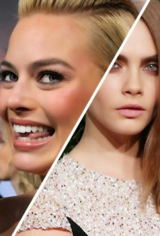 Your First Look at Cara Delevingne and Margot Robbie's Characters in Suicide Squad
