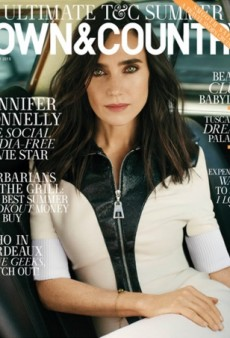 A Gorgeous Jennifer Connelly Wears Louis Vuitton (Obviously) on Town & Country (Forum Buzz)